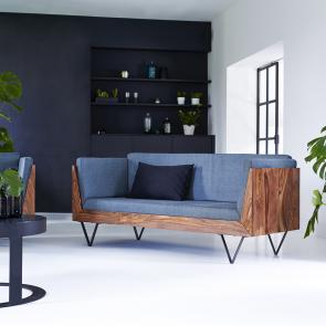 Sofa aus Palisander Metric
