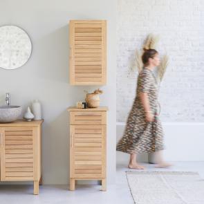 Soho Oak Modular Oak Storage Set 160