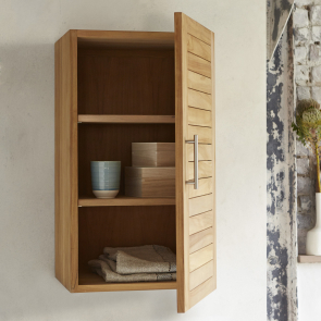 Soho Teak Bathroom Storage Upper Unit 40