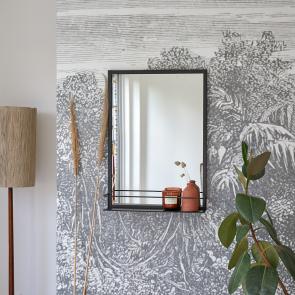 Spiegel aus Metall 70x50 Lison