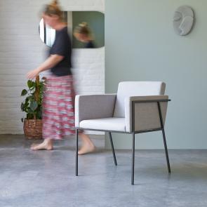 Stuhl aus Metall Temis