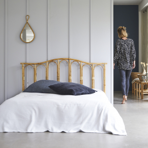 Tête de lit en rotin 160 Ondine