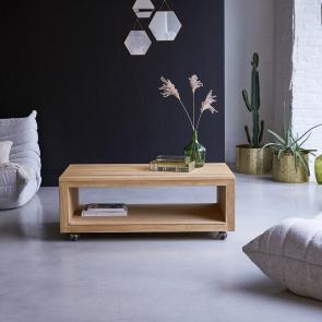 Table basse en teck 110x60 Anoa