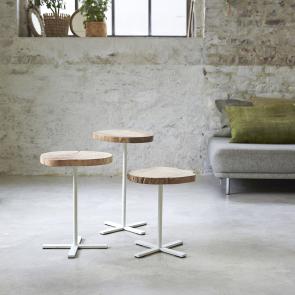 Tavolini Paani in legno flotté