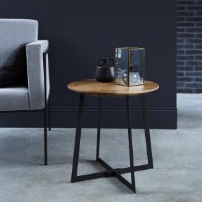 Tavolino in acacia Temis 45