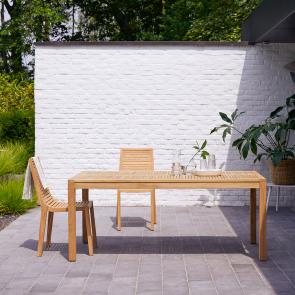 Tavolo da giardino in teak 180 Teo