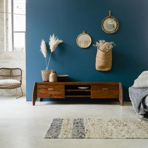 TV-Möbel 150 aus Palisander Luna