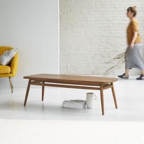 Twist Teak Coffee Table 120x50