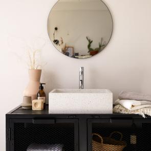 Waschbecken aus Stein Made