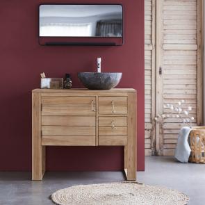 Waschtisch Holz, Waschtische Badezimmer - Tikamoon
