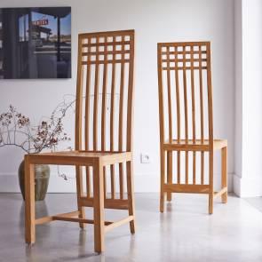 Chaise en teck Kwad