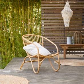 Gartenstuhl aus Rattan Mutine natur