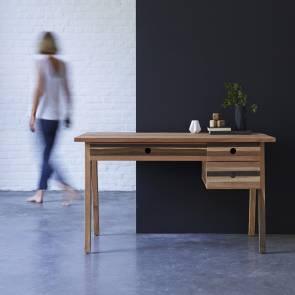 Schreibtisch aus recyceltem Holz Brooklyn