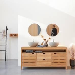 Serena Teak Vanity Cabinet 165