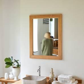 Spiegel aus Teak 90x70 Tona