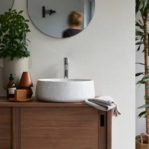 Waschbecken aus Stein Milos