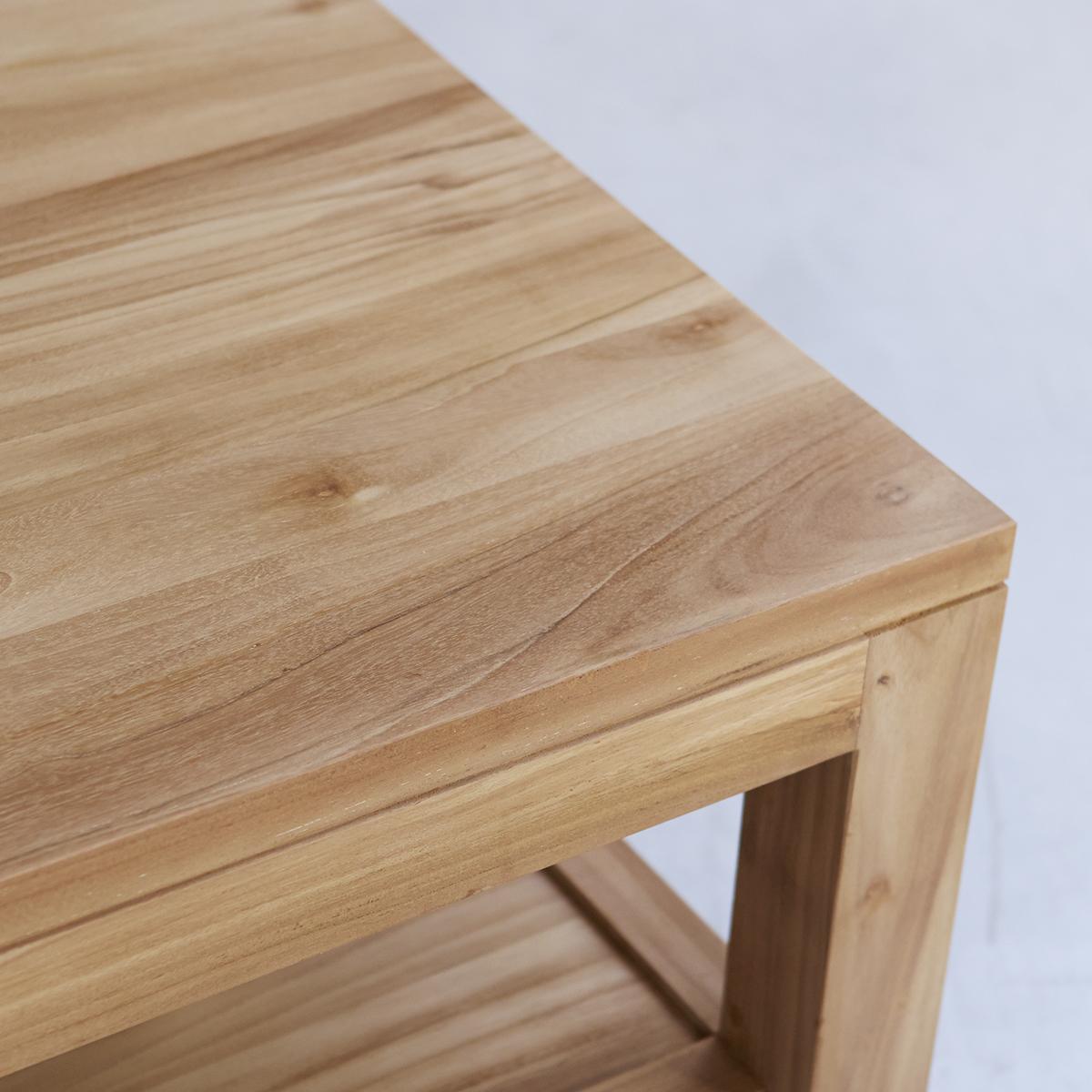 Tavolino In Teak 100 X 60 Cm Mobili Per Il Living Tikamoon