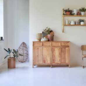 Alex Mindi Wood Sideboard 120